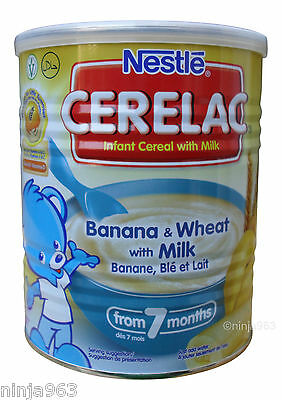 Nestle Cerelac Banana & Wheat with milk (400g) From 7 Months