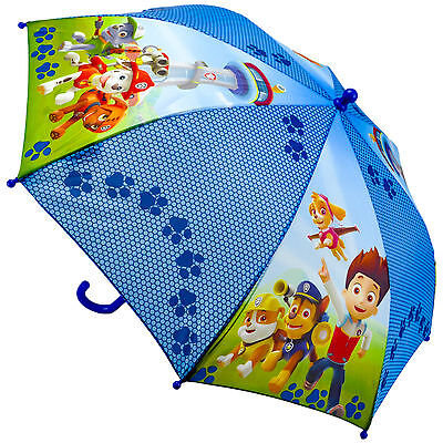 "Children's Official Licensed Boys Paw Patrol 16"" Umbrella Brand New"