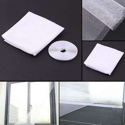 Anti-Insect Fly Bug Mosquito Window Curtain Net Mesh Screen Protector