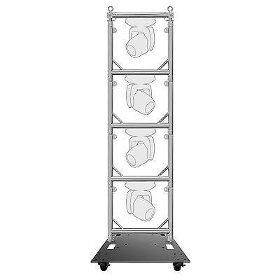 Global Truss 4 tier Lighting Quick Grid Sections for hanging lights + Baseplate