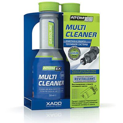 Xado Atomex Multi Cleaner for Gasoline LPG engine system cleaner REVITALIZANT