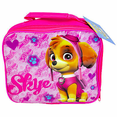 Childrens Official Licensed Pink Paw Patrol Insulated Lunch Bag Brand New