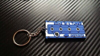 RS Cosworth Yb Key Ring Blue MK1 MK2 Escort