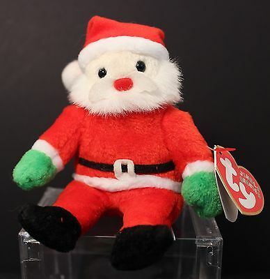 Ty Jingle Beanie  - SANTA -  doll with hang tag