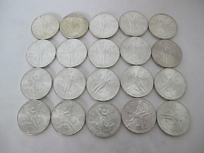 Fantastic 1984 Mexican 1 Ounce Libertad Coin 20 Pc Proof Like