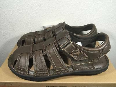 6649fe23cdcf New Mens Weatherproof Vintage Brown Cushioned Footbed Valley Sandal- Sizes !
