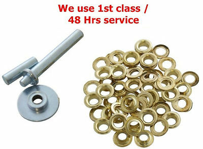 Tarpaulin Repair Kit Tent Awnings Eyelet Grommets Tool ect Ideal For Toolbox