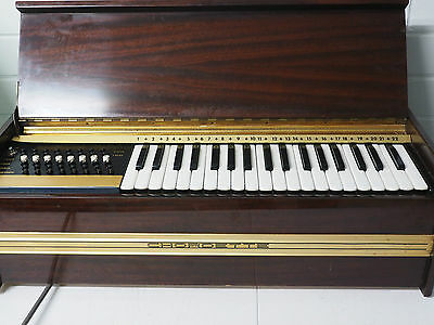 Chordette electric organ design by Excelsior