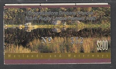 Australia 1992 Wetlands and Waterways Booklet ($2.00) O/PT - B169(2)