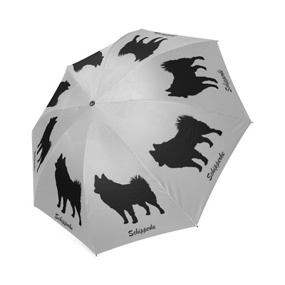 SCHIPPERKE UMBRELLA Foldable Spitzke Spits Dog Lovers Stuff Loss Memorial Gifts