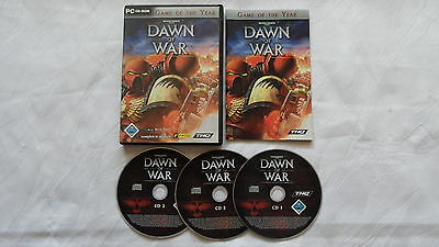 Warhammer 40.000 - Dawn of War Goty Edition für PC - Erstausgabe - CIB  Komplett