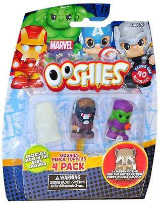 Marvel Ooshies Pencil Toppers 4 Pack (75721)