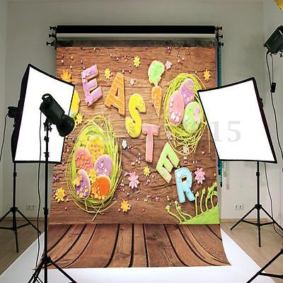 3x5FT Easter Theme Studio Prop Photo Vinyl Photography Backdrop Wall Background