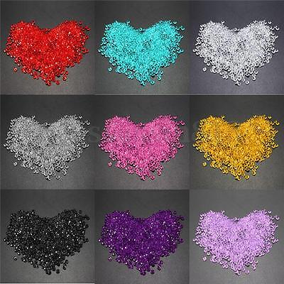 1000x 4.5mm Acrylic Crystal Diamond Confetti Table Scatters Fillers Vase Wedding