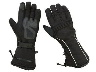 Men's Water Resistant Insulated Snowmobile Gloves Winter Warm Outdoor Sports