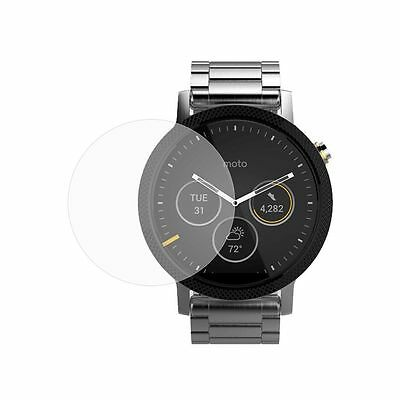 2X Tempered Gorilla Glass Screen Protector for Motorola Moto 360 2nd 46mm Watch