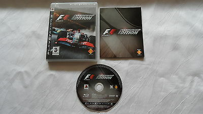 Formula One - Championship Edition für PS3 - Playstation 3 - CIB - Komplett !