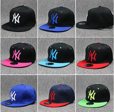 Kids Brand New New York NY Baseball Hip Hop Adjustable Cap Hat Snapback