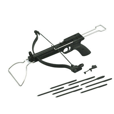 """1/6 Scale Crossbow Arrow Set Model BLACK For 12"""" Hot Toys Action Figure Body"""