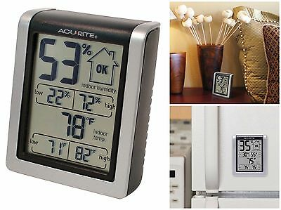 AcuRite 00613 Indoor Humidity Temperature Monitor Thermometer Hygrometer Gauge