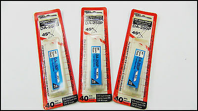 Black Friday Offer Replacement Craft Blades Sharp DA-250P Pack of 40pcs