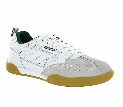 New Hi-Tec Mens Classic Squash Badminton Indoor Court Casual Suede Trainers
