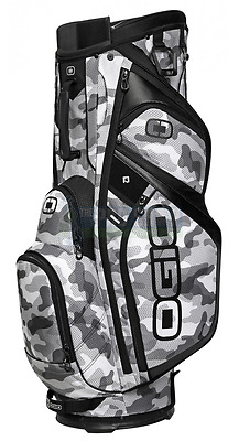OGIO Shredder Cart Bag Camo/Black 15 Way Divider 8 Pockets
