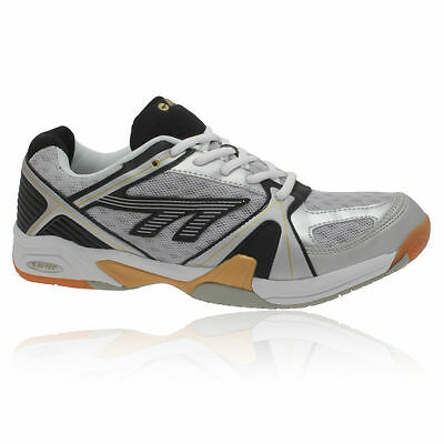 New Hi-Tec Court Lite M Mens Youths Squash Badminton Indoor Court Trainers Boxed