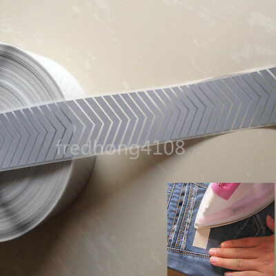 """DIY Arrow Silver Reflective Warning Tape Iron On Width 2"""" for Clothes Pants"""