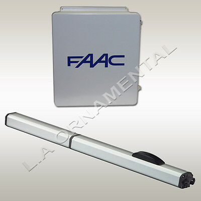 FAAC 400 CBAC EG Automatic Swing Gate Opener Basic Single Operator Kit 115V