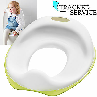 Soft Toilet Trainer Training Seat Potty Chair Baby Toddler Child Kids White