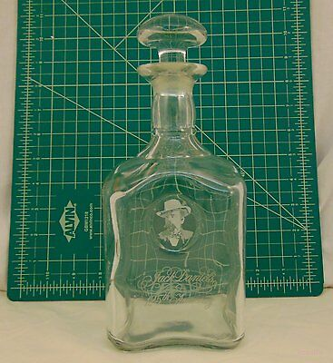 Jack Daniels 125th Anniversary Whisky Glass Decanter w/ Stopper