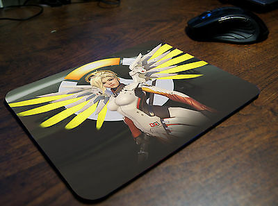 Mercy Overwatch Mousepad Mouse Mat Playmat Overwatch gadget gamer gift OW6