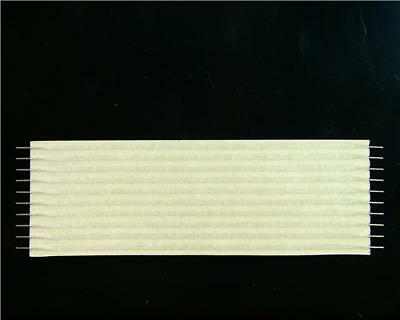 "1 x FSN-23A-10 Flat Ribbon Cable 10 Way 0.1"" 2.54mm 76.2mm FLEXSTRIP PCB Connect"