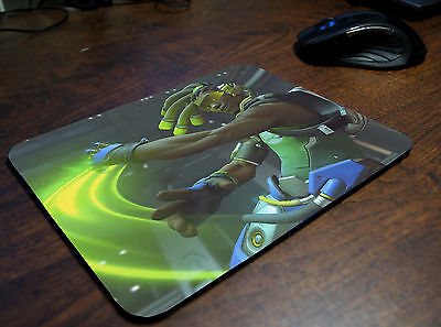 F346 Free Shipping Overwatch Tracer Playmat TCG CCG Playmat Keyboard Mouse Pad