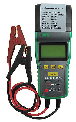 SALE!Heavy Duty Truck Automotive Car Battery Load Tester 12V & 24V With Printer