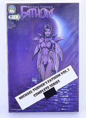 Michael Turner's Fathom Complete Series #0 1/2 1-14 Lot of 16