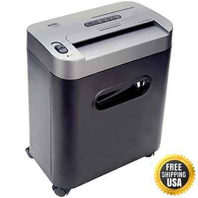 Royal 112MX 12-Sheet Cross Cut Shredder Shreds CD's with Console (Black) New