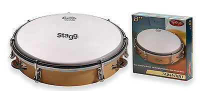 8 Zoll stimmbares Holz-Tambourin