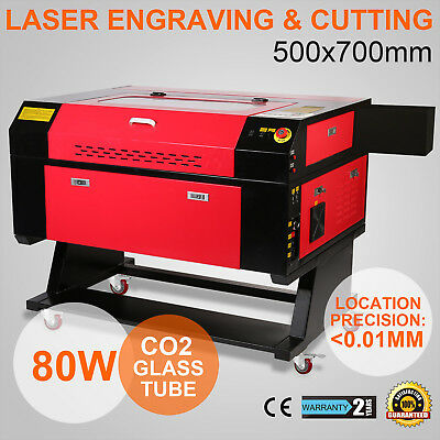 80W Co2 Laser Engraving Ce Cutter Woodworking Crafts Quality Certification