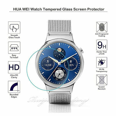 9HD Tempered Glass Screen Protector Film Guard for Huawei Watch SmartWatch 2015