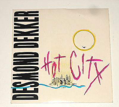 "Desmond Dekker - 7"" Single - Hot City - Moving On - Stiff Records BUY 186"