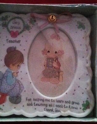 1994 Precious Moments Very Special Teacher Picture Frame