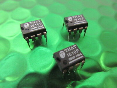 3 x THAT1510P Pin Compatible SSM2019 SSM2017 INA217 INA163 Audio Pre Amp £4ea!