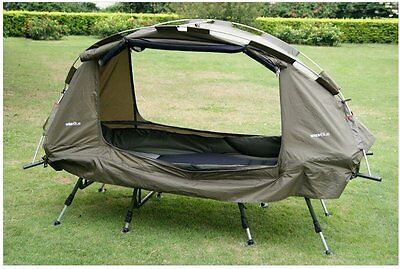 Off Ground Cot Tent lightweight Camping one man pod Bug free Water proof pod