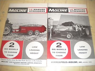 Minneapolis Moline LO Manure Spreaders brochure
