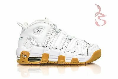 Nike Air More Uptempo GS White Gum Bottom Brown 415082 101 Olympic SHIPS NOW