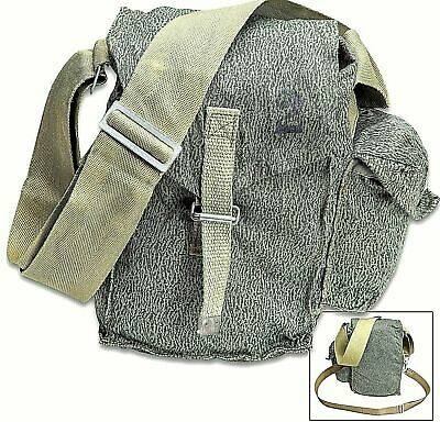 New Swiss Army SM-74 Gas Mask Bag Rubberized Climbing Backpacking Military Pack