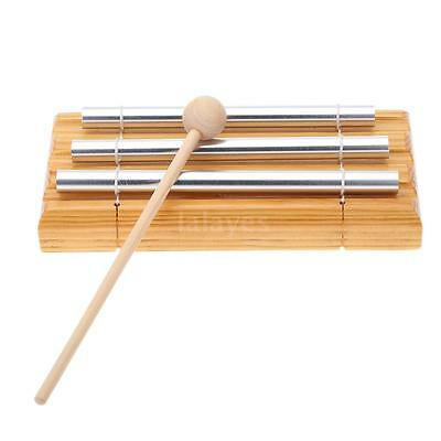 Hot Energy Chime 3 Tones with Mallet Children Musical Toy Instrument T6G4