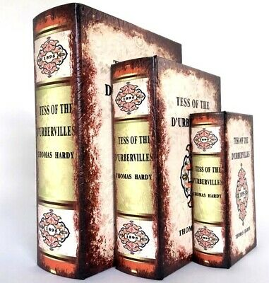 Buch Attrappe Thomas Hardy Tess DUrbervilles Buch Box Book Safe Mockup Schatulle